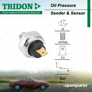 Tridon Oil Pressure Light Switch for Ford Courier PD PE PG PH Festiva Laser