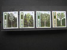 Nouvelle-Zélande 1989 arbres indigènes Set NHM SG1511/14