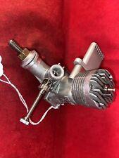 ENYA35  5224 STUNT ENGINE &TONGUE-MUFFLER COMPLETE NICE #55