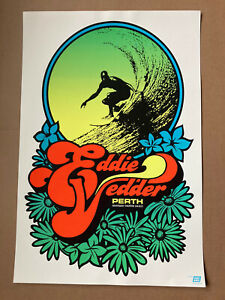 Eddie Vedder Official Concert Poster  Perth Riverside Theatre 04-01-11 Ames Bros