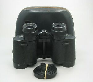 Carl Zeiss Jena 8x30 Binoculars Jenoptem with Case W Wide View T3M MC