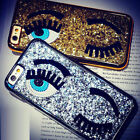 3D Fashion Bling Sparkly Big Eyes Hard Back Phone Case Cover For iPhone 7 7 Plus