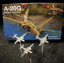1/700 Douglas A-20G Havoc - (x3) 3D Printed - Excellent!