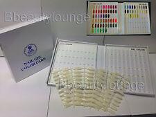 120 Tip White Nail Colour Chart Display Book For UV/LED Gel Polish BUY 2 = GIFT!