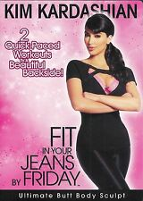 Kim Kardashian Fit in Your Jeans by Friday Ultimate Butt Body Sculpt Sealed DVD