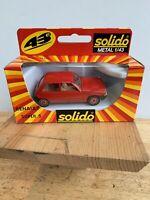 Solido 1/43 scale diecast model Renault Super 5 NIB RARE