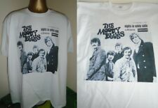 THE MOODY BLUES- NIGHTS IN WHITE SATIN 1968 (FRANCE) T SHIRT-WHITE-  LARGE
