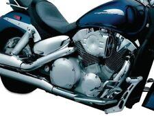 Filtros de aire de color cromo para motos Honda