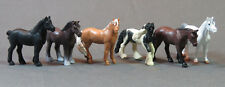 O Scale Horses 6 pcs. from bulk package o gauge train figure people LOT 8 NEW