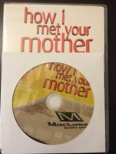 How I Met Your Mother - Season 4, Disc 2 REPLACEMENT DISC (not full season)