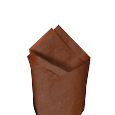 """24 Sheets 20"""" x30"""" Raw Sienna (Brown) Quality Premium Grade Color Tissue Paper"""