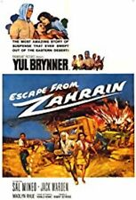 "16mm Feature ""ESCAPE FROM ZAHRAIN"" 1962  YUL BRYNNER SAL MINEO Jack Warden"