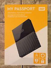 WD My Passport Portable Drive - 4TB - Black - $119.99