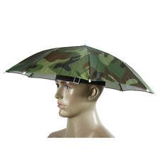 Adult Kid Fishing Hiking useful Umbrella Hat Cap Outdoor Sun-Shade cover Camping