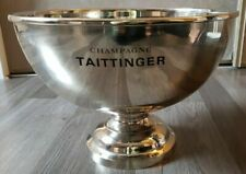 TAITTINGER CHAMPAGNE DOUBLE MAGNUM  COOLER  BUCKET LITTLE USE ORIGINAL BOX