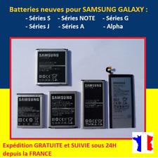 BATTERIE pour SAMSUNG GALAXY S2 S3 S4 S5 S6 S7 S8 S9 + Edge Edge+ Note Mini J3