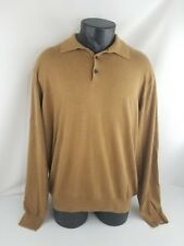 Orvis Men's Cashmere Blend Long Sleeve Pullover Style Sweater Adult Large (L)