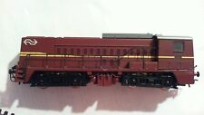 HO Roco Diesel locomotive Class 2200 of the NS (Dutch Railroads) brown no box