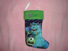 "Disney Pixar Monsters University Christmas Stocking 9 """