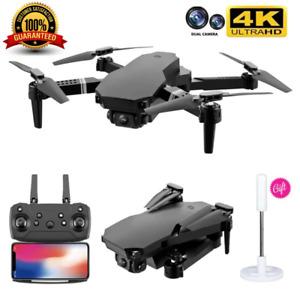 Quad air Drone 2021 S70 RC Drone 4k HD Wide Angle Dual Camera WIFI FPV Drone +3B