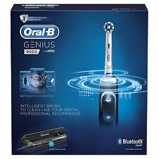 Oral-B Genius 9000, SmartSeries, Rechargeable Toothbrush (Genuine, Black)