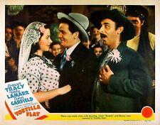 TORTILLA FLAT 1942 Hedy Lamarr John Garfield LOBBY CARD