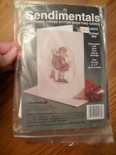 Sendimentals School Girl Card Counted Cross Stitch Kit