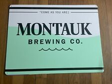 "Montauk Brewing Company ""Come As You Are�"
