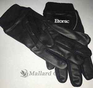 Men's Etonic Stabalizer Fit Wint Golf Gloves 1 Pair [S, M, ML, L, XL, 2XL] Black