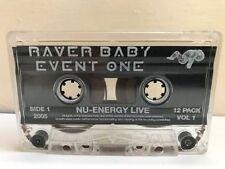 Techno Dance & Electronica Live Recording Music Cassettes