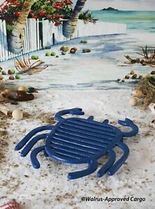 CRATE & BARREL HARBORSIDE CRAB TRIVET -NWT- GET MEAL TIME OUT OF ITS BLAH SHELL!