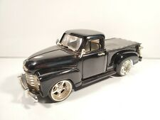 JADA DUB CITY 1951 CHEVY PICKUP TRUCK 1:24 BLACK WHITE INTERIOR