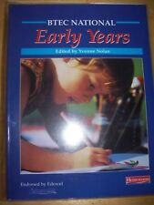 BTEC National Early Years Student Book by Yvonne Nolan