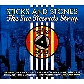 STICKS AND STONES - THE SUE RECORDS STORY - DOUBLE CD DIGIPAK ALBUM - NEW