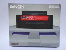 Retro-bit-Retro Gen adaptador Mega Drive juegos a jugar SNES (con embalaje original)