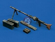 Verlinden 120mm (1/16) Maschinengewehr 34 (MG 34) German Machine Gun WWII 794
