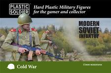 15MM GUERRA FREDDA moderna FANTERIA SOVIETICA Miniatures PSC PLASTIC Soldier Company nuovo