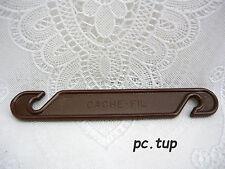 Gadget Miniature Tupperware (not keychain - Pas porte-clés) Cache-fil marron