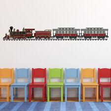 Classic Steam Train American Transport Wall Sticker WS-47153