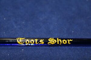 1930/40's GLASS SWIZZLE STICK TOOTS SHOR / MUDDLER  ART DECO VERY RARE