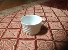 Haviland  Limoges Torse White Swirl Coffee/Tea Cup