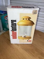 NOS Vintage 1984 Weber Lars Yellow Lantern Made In Germany 🇩🇪
