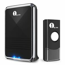 1byone Easy Chime Wireless Doorbell Door Chime Kit CD Quality Sound LED Flash AU