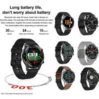 Dt95 Men Smart Watch Bluetooth Call Heart Rate Fitness Tracker For IOS Android