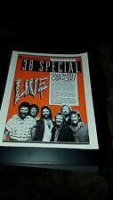 38 Special Rare Original Westwood One Halloween Concert Promo Poster Ad Framed!