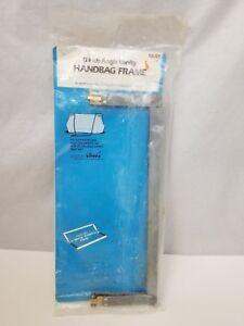 "Vintage EZ Handbag Frame 11"" Angle Vanity Ghee's 1990 NEW Spring Action"