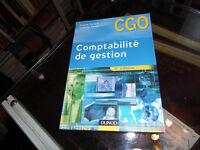 Comptabilité de Gestion , CGO - Brigitte Doriath