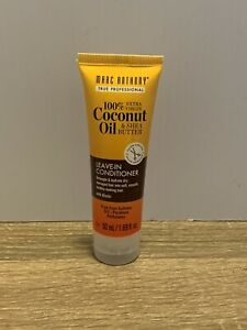 Marc Anthony 100% Coconut Oil Shea Butter Leave-In Conditioner 1.69oz Travel Sz