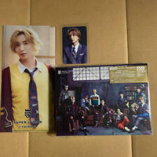 Super Junior I THINK U CD DVD Photobook photocard ticket holder set Leeteuk