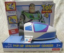 NEW Disney Pixar TOY STORY 4 Buzz Lightyear Pop-Up Spaceship Cruiser (BIN 1)